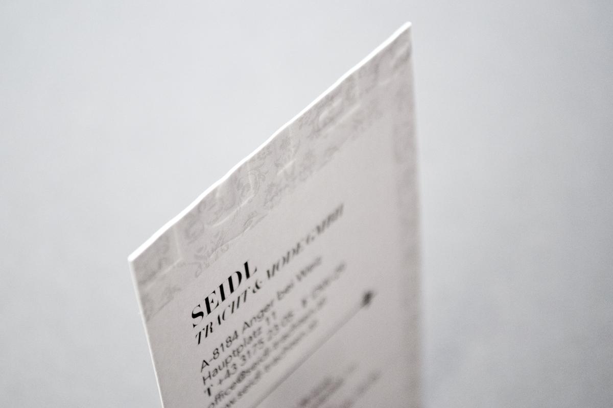 Seidl Visitenkarte