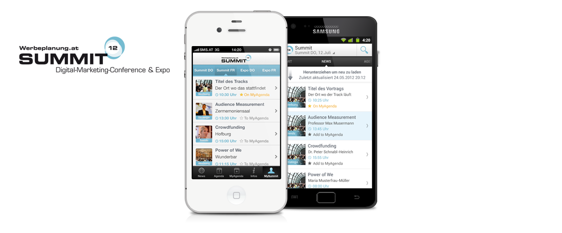 Werbeplanung iOS Android
