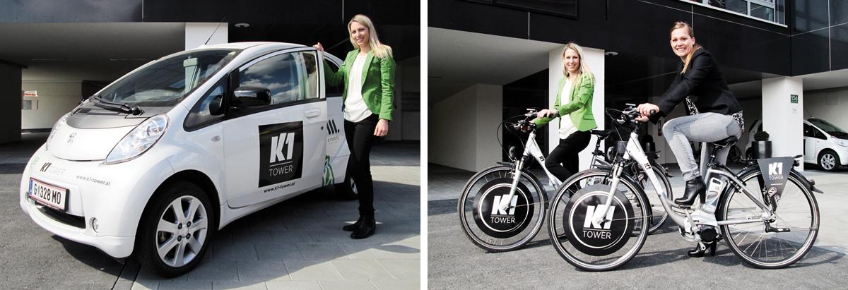 K1 E-Car, E-Bike
